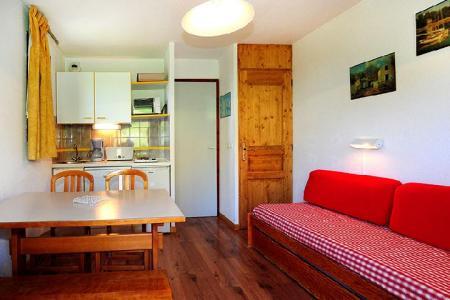 Vacances en montagne Appartement 2 pièces 4 personnes (302) - Résidence les Balcons d'Olympie - Les Menuires - Canapé