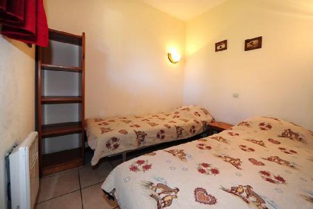 Vacances en montagne Appartement 2 pièces cabine 6 personnes (050) - Résidence les Balcons d'Olympie - Les Menuires - Lit simple