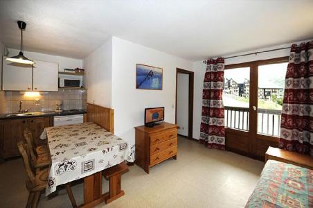 Vacances en montagne Appartement 2 pièces cabine 6 personnes (110) - Résidence les Balcons d'Olympie - Les Menuires - Séjour