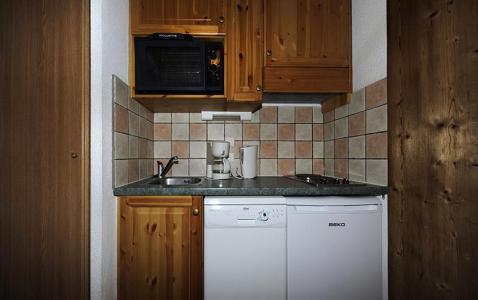 Vacances en montagne Appartement 2 pièces cabine mezzanine 8 personnes (640) - Résidence les Balcons d'Olympie - Les Menuires - Kitchenette