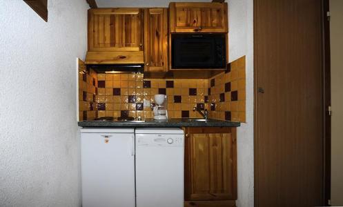 Vacances en montagne Appartement 2 pièces mezzanine 8 personnes (639) - Résidence les Balcons d'Olympie - Les Menuires - Kitchenette
