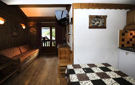 Vacances en montagne Appartement 2 pièces mezzanine 8 personnes (639) - Résidence les Balcons d'Olympie - Les Menuires - Séjour
