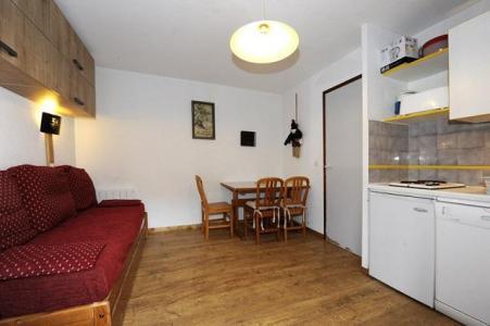 Vacances en montagne Studio cabine 4 personnes (108) - Résidence les Balcons d'Olympie - Les Menuires - Kitchenette