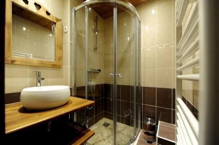 Vacances en montagne Studio cabine 4 personnes (108) - Résidence les Balcons d'Olympie - Les Menuires - Salle de bains
