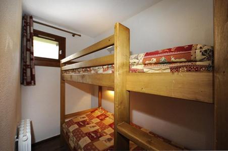 Vacances en montagne Studio cabine 4 personnes (301) - Résidence les Balcons d'Olympie - Les Menuires - Lits superposés