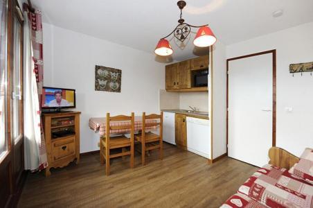 Vacances en montagne Studio cabine 4 personnes (301) - Résidence les Balcons d'Olympie - Les Menuires - Séjour