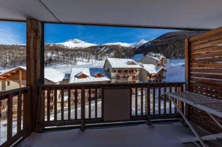 Holiday in mountain resort Résidence les Balcons de Bois Méan - Les Orres - Balcony
