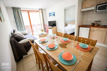 Holiday in mountain resort 2 room apartment cabin 6 people - Résidence les Balcons de la Neste - Saint Lary Soulan - Dining area