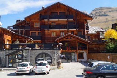 Holiday in mountain resort Résidence les Balcons de Sarenne - Les 2 Alpes