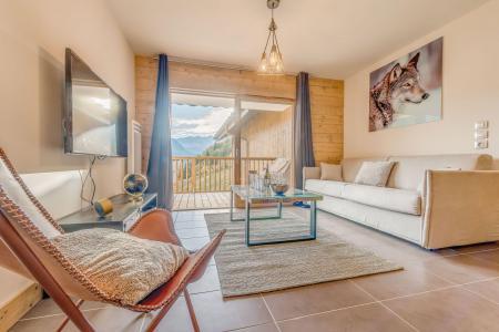Vacances en montagne Appartement 2 pièces 4 personnes (B11) - Résidence les Balcons Etoilés - Champagny-en-Vanoise - Canapé