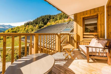 Vacances en montagne Appartement 2 pièces 4 personnes (B17) - Résidence les Balcons Etoilés - Champagny-en-Vanoise - Balcon