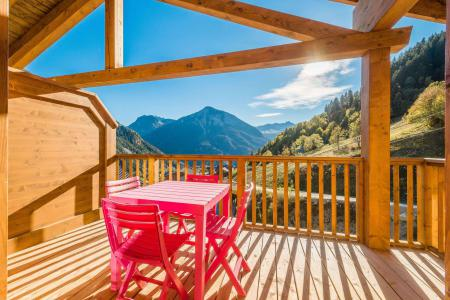 Vacances en montagne Appartement 2 pièces mezzanine 6 personnes (B15) - Résidence les Balcons Etoilés - Champagny-en-Vanoise - Balcon