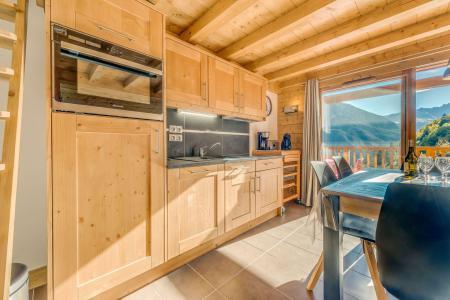 Vacances en montagne Appartement 2 pièces mezzanine 6 personnes (B15) - Résidence les Balcons Etoilés - Champagny-en-Vanoise - Kitchenette