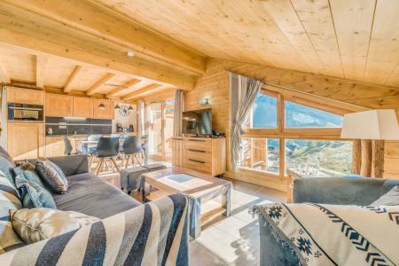 Vacances en montagne Appartement 2 pièces mezzanine 6 personnes (B15) - Résidence les Balcons Etoilés - Champagny-en-Vanoise - Séjour
