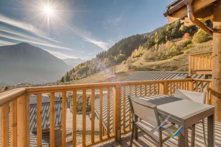 Vacances en montagne Appartement 2 pièces mezzanine 6 personnes (B22) - Résidence les Balcons Etoilés - Champagny-en-Vanoise - Balcon