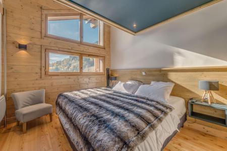 Vacances en montagne Appartement 2 pièces mezzanine 6 personnes (B22) - Résidence les Balcons Etoilés - Champagny-en-Vanoise - Lit double