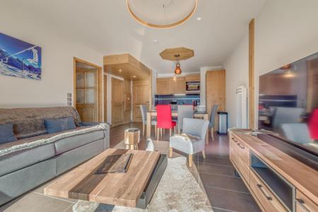 Vacances en montagne Appartement 2 pièces mezzanine 6 personnes (B22) - Résidence les Balcons Etoilés - Champagny-en-Vanoise - Séjour