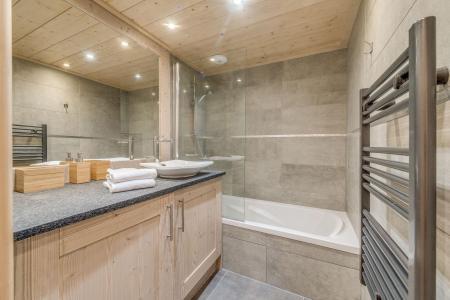 Vacances en montagne Appartement 3 pièces 6 personnes (A07) - Résidence les Balcons Etoilés - Champagny-en-Vanoise - Baignoire
