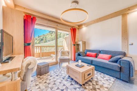 Vacances en montagne Appartement 3 pièces 6 personnes (A07) - Résidence les Balcons Etoilés - Champagny-en-Vanoise - Séjour