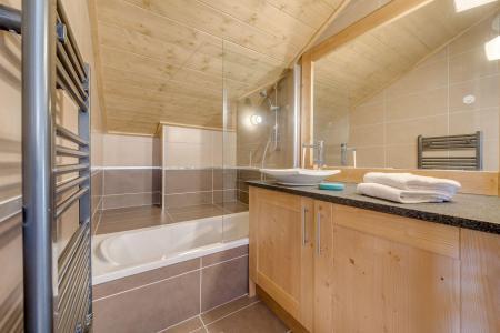 Vacances en montagne Appartement 3 pièces 6 personnes (A12) - Résidence les Balcons Etoilés - Champagny-en-Vanoise - Baignoire