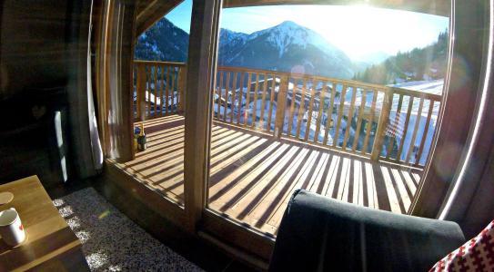 Vacances en montagne Appartement 3 pièces 6 personnes (A12) - Résidence les Balcons Etoilés - Champagny-en-Vanoise - Balcon