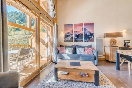 Vacances en montagne Appartement 3 pièces 6 personnes (A12) - Résidence les Balcons Etoilés - Champagny-en-Vanoise - Séjour