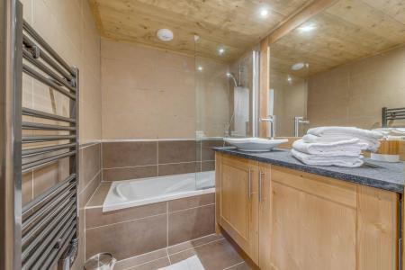 Vacances en montagne Appartement 3 pièces 6 personnes (A18) - Résidence les Balcons Etoilés - Champagny-en-Vanoise - Baignoire