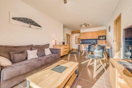 Vacances en montagne Appartement 3 pièces 6 personnes (A18) - Résidence les Balcons Etoilés - Champagny-en-Vanoise - Canapé