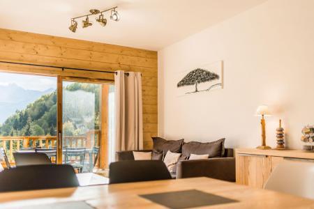 Vacances en montagne Appartement 3 pièces 6 personnes (A18) - Résidence les Balcons Etoilés - Champagny-en-Vanoise - Table