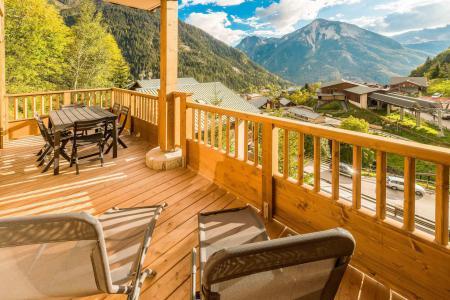 Vacances en montagne Appartement 3 pièces 6 personnes (A18) - Résidence les Balcons Etoilés - Champagny-en-Vanoise - Terrasse