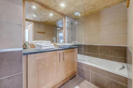 Vacances en montagne Appartement 3 pièces 6 personnes (A19) - Résidence les Balcons Etoilés - Champagny-en-Vanoise - Baignoire
