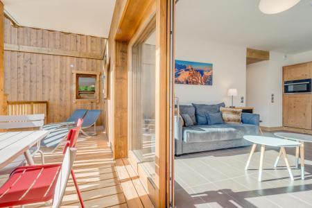 Vacances en montagne Appartement 3 pièces 6 personnes (A19) - Résidence les Balcons Etoilés - Champagny-en-Vanoise - Terrasse