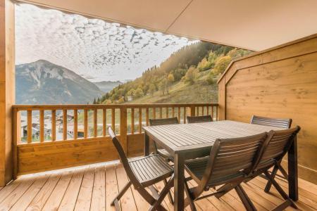 Vacances en montagne Appartement 3 pièces 6 personnes (B08) - Résidence les Balcons Etoilés - Champagny-en-Vanoise - Balcon