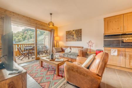 Vacances en montagne Appartement 3 pièces 6 personnes (B08) - Résidence les Balcons Etoilés - Champagny-en-Vanoise - Séjour
