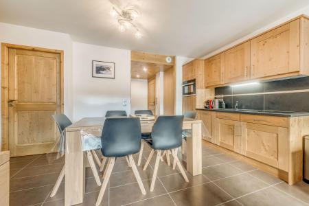 Vacances en montagne Appartement 3 pièces 6 personnes (B09) - Résidence les Balcons Etoilés - Champagny-en-Vanoise - Table