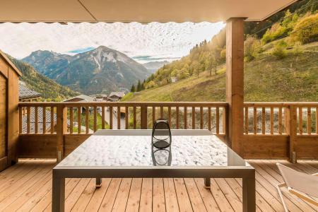 Vacances en montagne Appartement 3 pièces 6 personnes (B09) - Résidence les Balcons Etoilés - Champagny-en-Vanoise - Terrasse