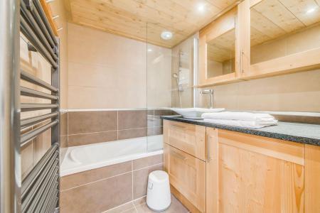 Vacances en montagne Appartement 3 pièces 6 personnes (B12) - Résidence les Balcons Etoilés - Champagny-en-Vanoise - Baignoire