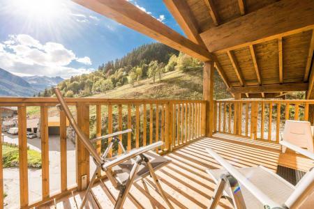 Vacances en montagne Appartement 4 pièces 8 personnes (A13) - Résidence les Balcons Etoilés - Champagny-en-Vanoise - Balcon