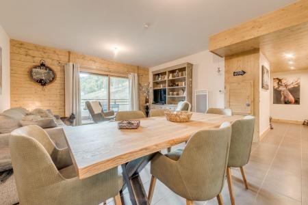 Vacances en montagne Appartement 4 pièces 8 personnes (B02) - Résidence les Balcons Etoilés - Champagny-en-Vanoise - Table