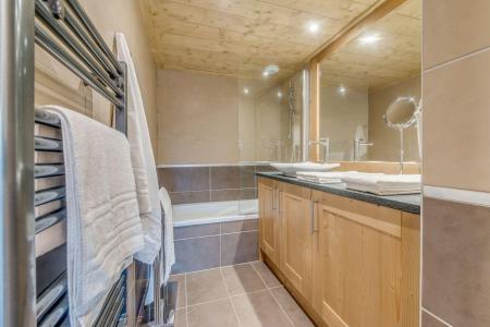 Vacances en montagne Appartement 4 pièces 8 personnes (B03) - Résidence les Balcons Etoilés - Champagny-en-Vanoise - Baignoire