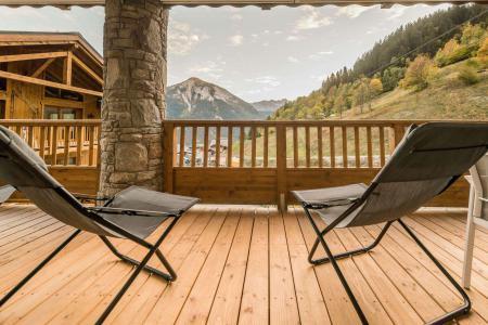 Vacances en montagne Appartement 4 pièces 8 personnes (B03) - Résidence les Balcons Etoilés - Champagny-en-Vanoise - Balcon