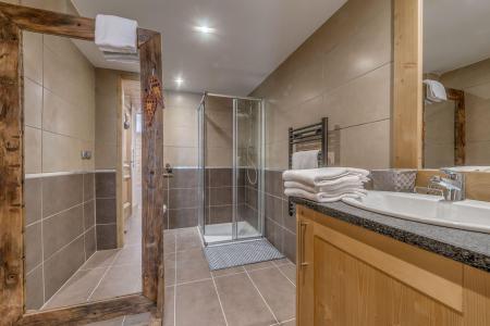 Vacances en montagne Appartement 4 pièces 8 personnes (B21) - Résidence les Balcons Etoilés - Champagny-en-Vanoise - Douche