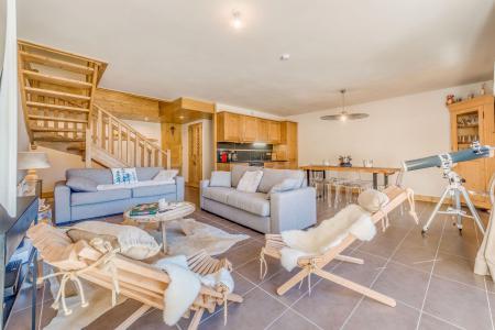Vacances en montagne Appartement duplex 4 pièces 10 personnes (B24) - Résidence les Balcons Etoilés - Champagny-en-Vanoise - Canapé