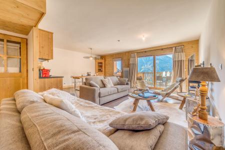 Vacances en montagne Appartement duplex 4 pièces 10 personnes (B24) - Résidence les Balcons Etoilés - Champagny-en-Vanoise - Séjour