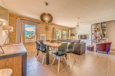Vacances en montagne Appartement duplex 4 pièces 8 personnes (B20) - Résidence les Balcons Etoilés - Champagny-en-Vanoise - Séjour
