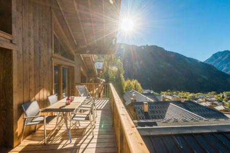 Vacances en montagne Appartement duplex 5 pièces 10 personnes (B25) - Résidence les Balcons Etoilés - Champagny-en-Vanoise - Balcon