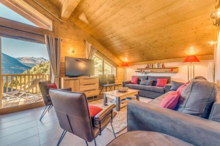 Vacances en montagne Appartement duplex 5 pièces 10 personnes (B25) - Résidence les Balcons Etoilés - Champagny-en-Vanoise - Canapé