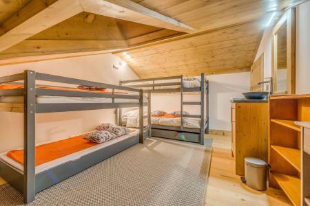 Vacances en montagne Appartement duplex 5 pièces 10 personnes (B25) - Résidence les Balcons Etoilés - Champagny-en-Vanoise - Lits superposés