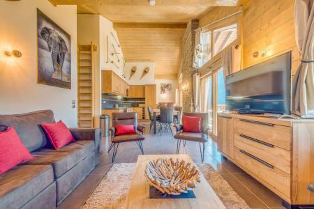 Vacances en montagne Appartement duplex 5 pièces 10 personnes (B25) - Résidence les Balcons Etoilés - Champagny-en-Vanoise - Séjour