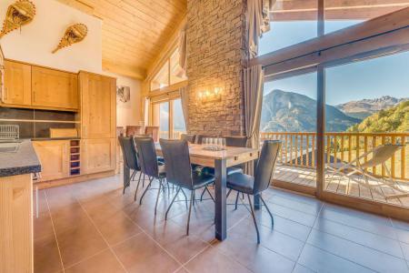 Vacances en montagne Appartement duplex 5 pièces 10 personnes (B25) - Résidence les Balcons Etoilés - Champagny-en-Vanoise - Table